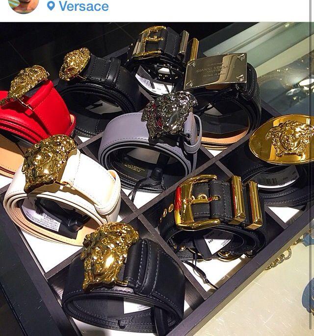Versace belts @versaceofficial