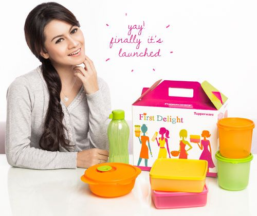Jual Tupperware First Delight Gift Collection