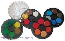 Hero Arts Watercolor Paint Wheels 24 Colors Pd101 Watercolor Art