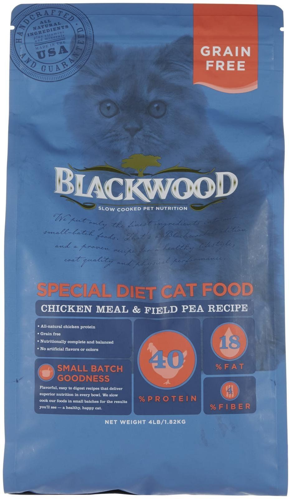 Blackwood pet food 075492885060 chicken meal and field pea