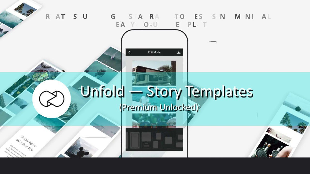 Unfold Story Templates Is A Great Tool For Instagram Lovers It Brings You The Best Templates To Create Unique Storie Story Template Best Templates Templates