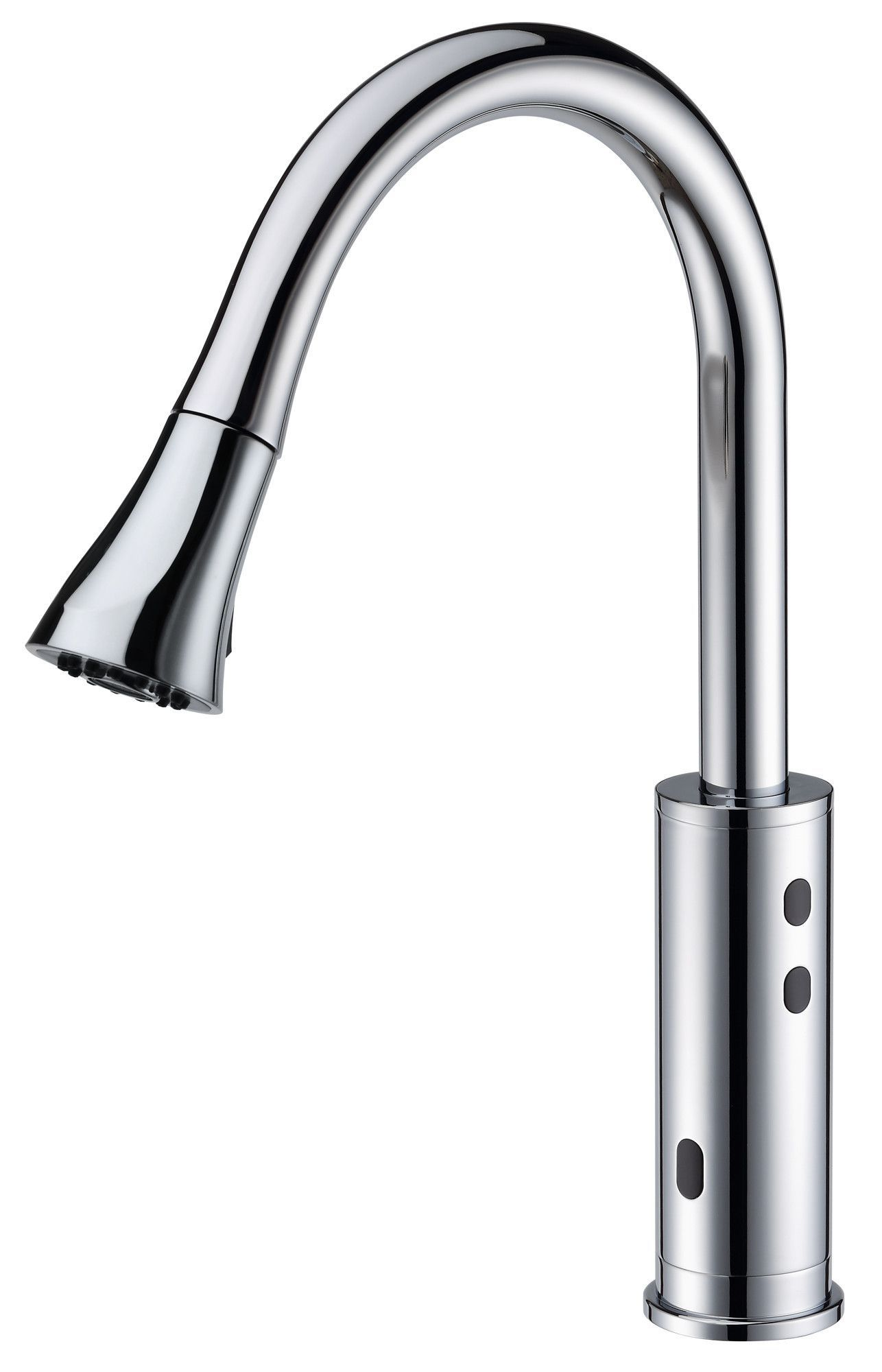Cinaton 2201 Kitchen Faucet In Brushed Nickel Finish