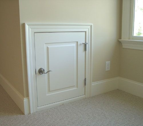 Attic Access Door Bathroom Remodeling Ideas Attic