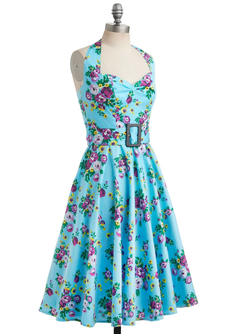 Enchanted Afternoon Dress, #ModCloth. Been stalking this dress for over a year, finally ordered because they had a discount. Totally awesome dress!
