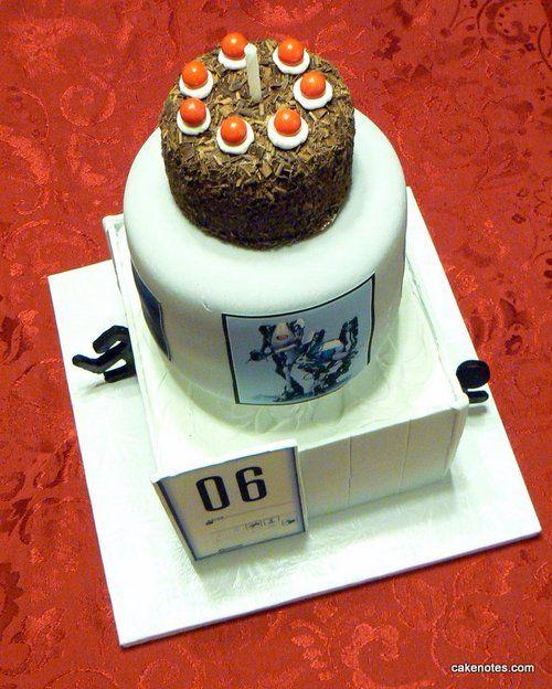 Cool Portal 2 Portal Cake Cake Amazing Cakes Funny Birthday Cards Online Drosicarndamsfinfo