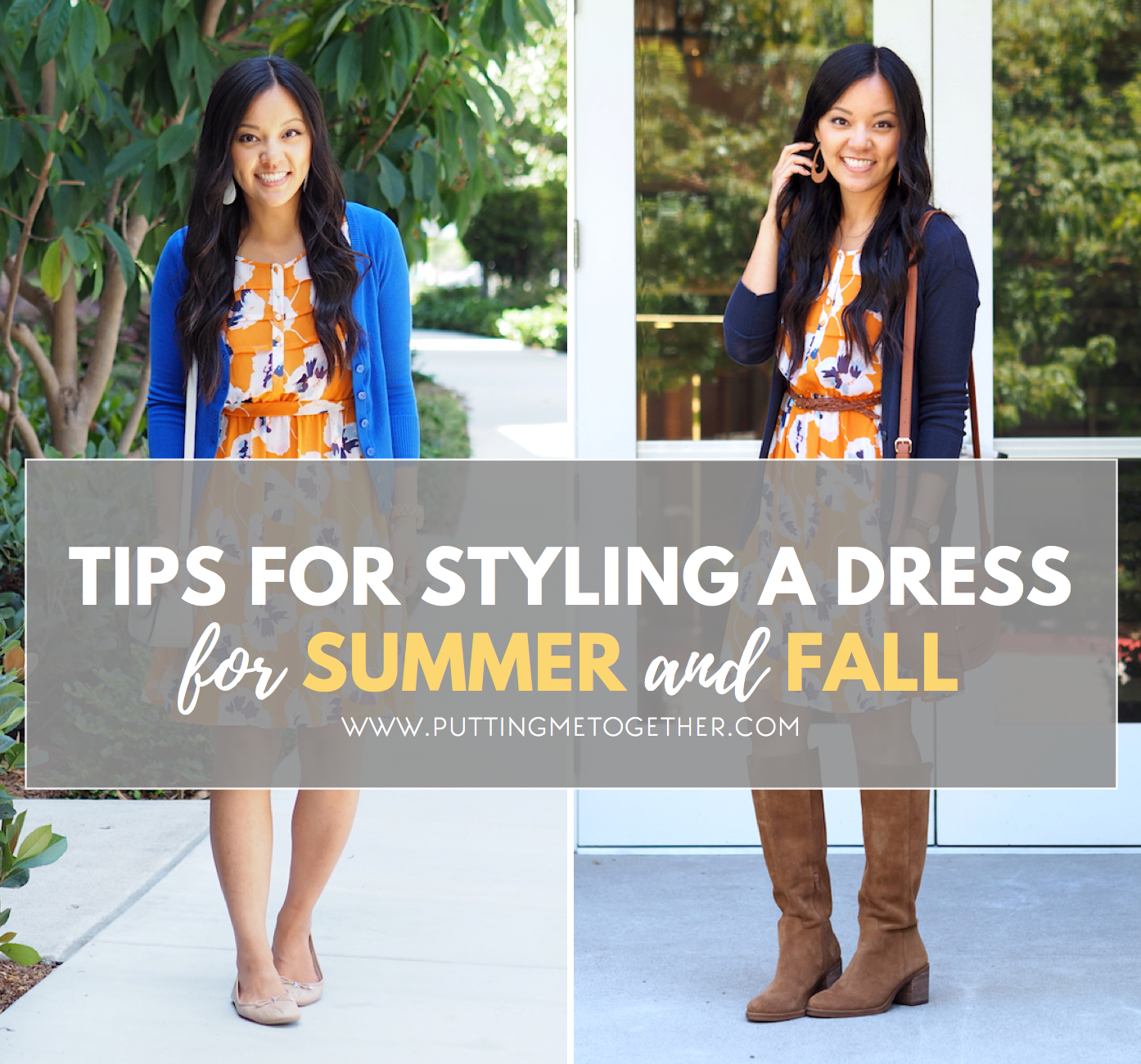 How To Wear Summer Dresses In The Fall Putting Me Together Summer Dresses Chiffon Shirt Dress Sunmer Dresses [ 1300 x 1394 Pixel ]