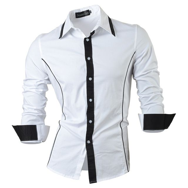 2018 Spring Autumn Features Shirts Men Casual Jeans Shirt New Arrival Long  Sleeve Casual Slim Fit Male Shirts 8015-in Casual Shirts from Men's  Clothing ...