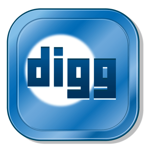 Digg metallic button AD , AFF, spon, button, metallic