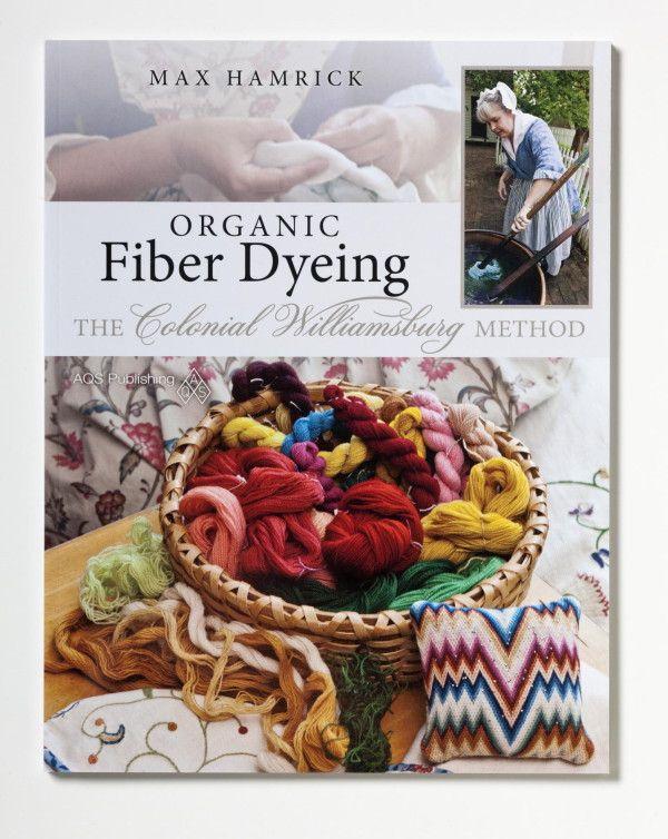 Organic Fiber Dying Book
