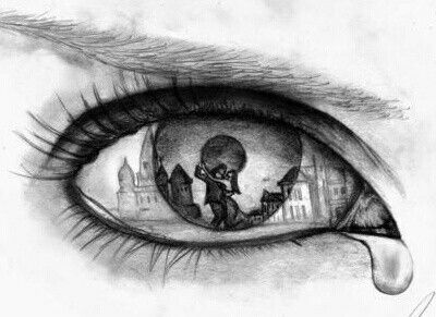 eyes show what the heart is to afraid to admit to afraid to let in