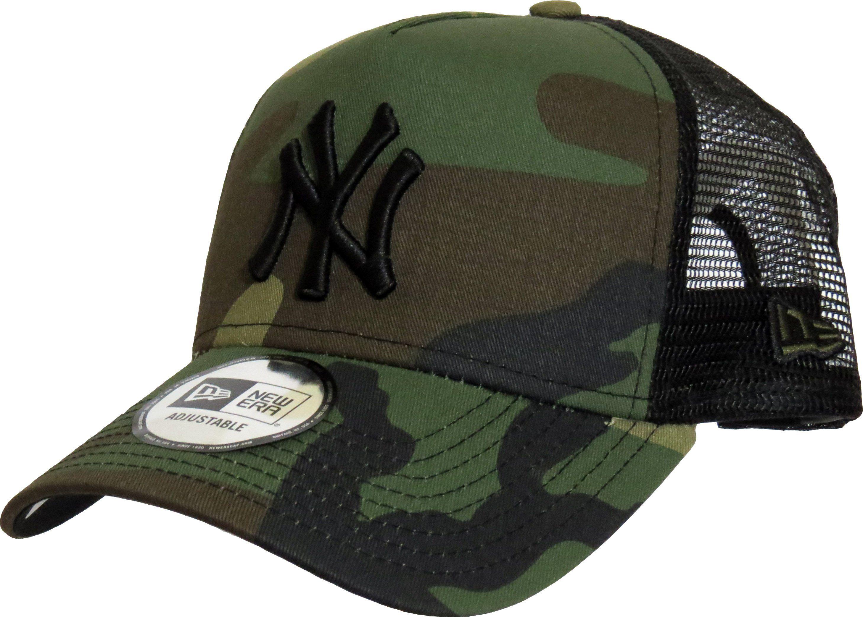 6f698cccf NY Yankees New Era Woodland Camo Clean Trucker Cap in 2019 ...
