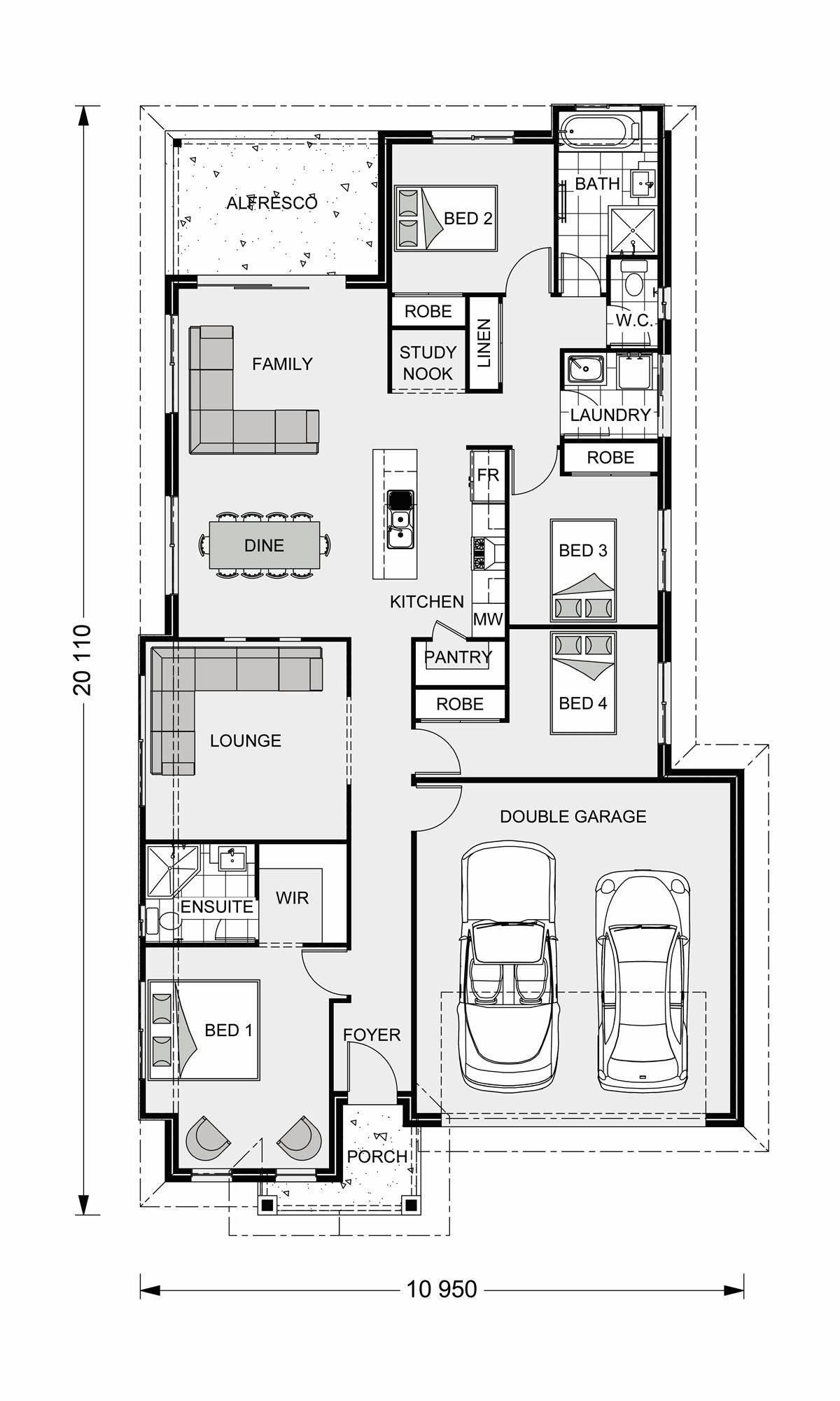 Bridgewater 186 Our Designs Grafton Builder GJ Gardner Homes