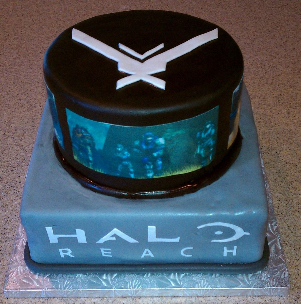 Gears of Halo Halo Ghosts and birthday cakes Birthday Cakes