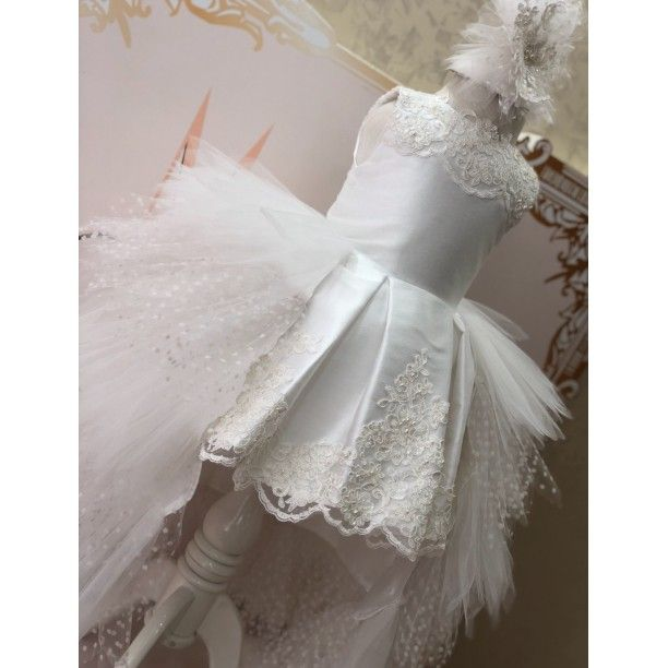Photo of White Gazelle Dress- 7-9 years old Clothes and Accessories> Clothing …