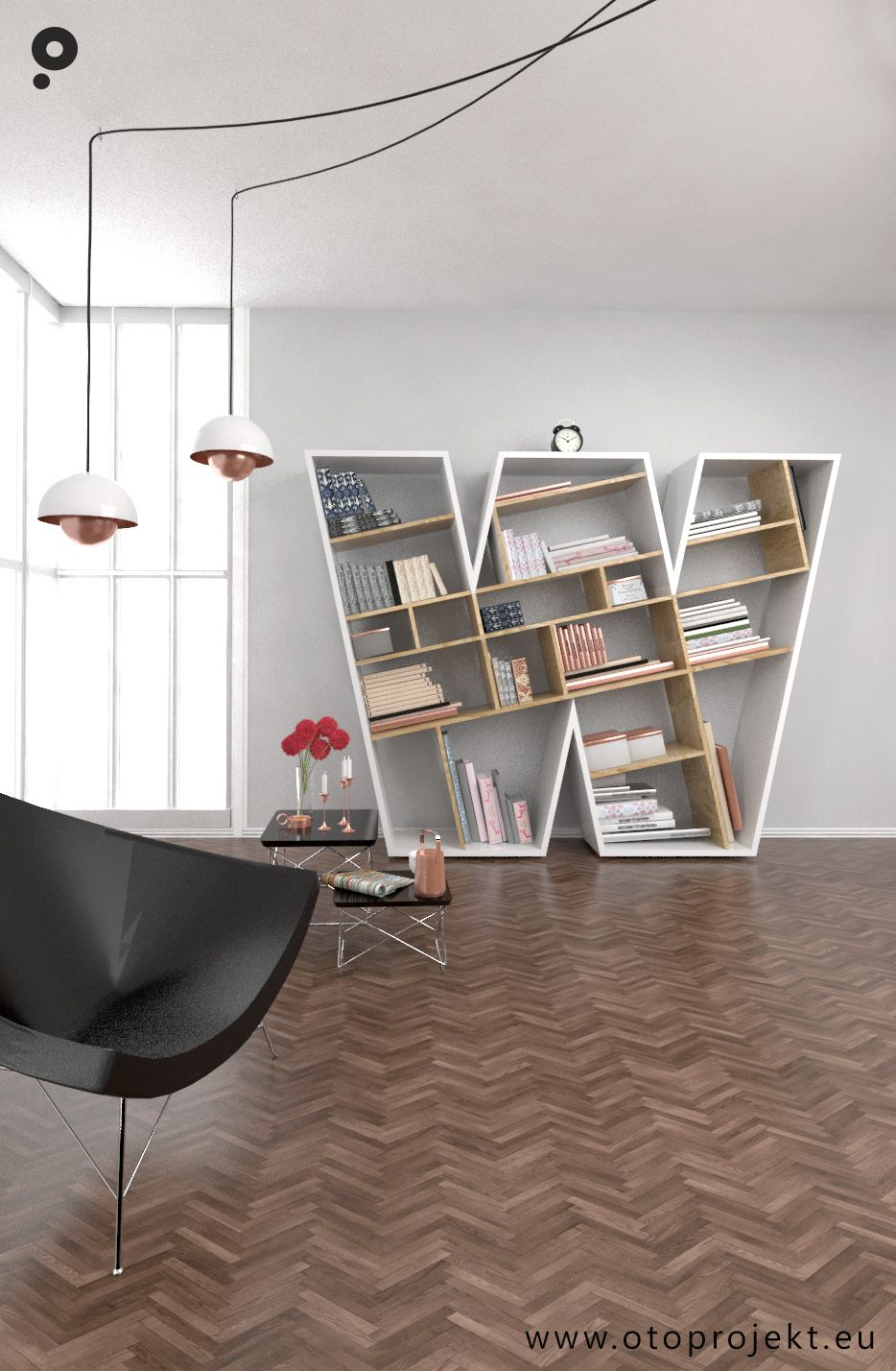 Our New Project Released Wu Bookshelf That Will Take Care For All Your Books Interior Furniture Design Shelves
