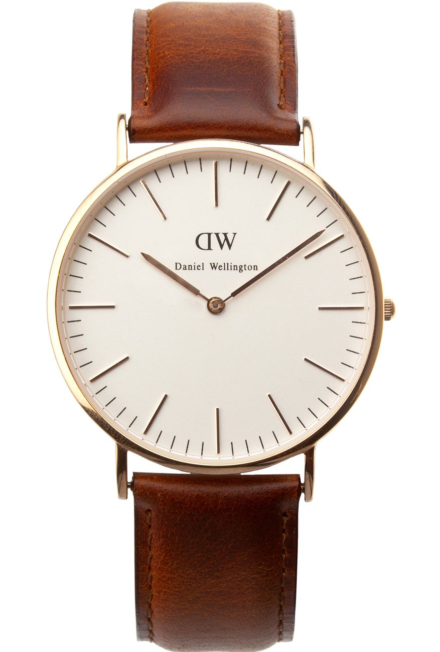 630d4e4aab0d 1 boyfriend watch in neutral  black brown or pop of color  red white green  etc   (Daniel Wellington brown leather with gold or rose gold. tapiture.com)