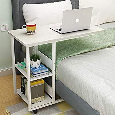 Best Amazon Com Cleave Waves U Shaped Wood Side Table Portable 400 x 300