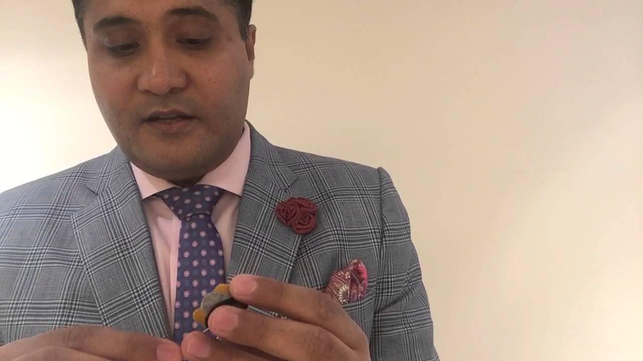 We've started a YouTube channel with some helpful information // WATCH THIS VIDEO TO GET AN INTRODUCTION TO LAPEL FLOWERS.