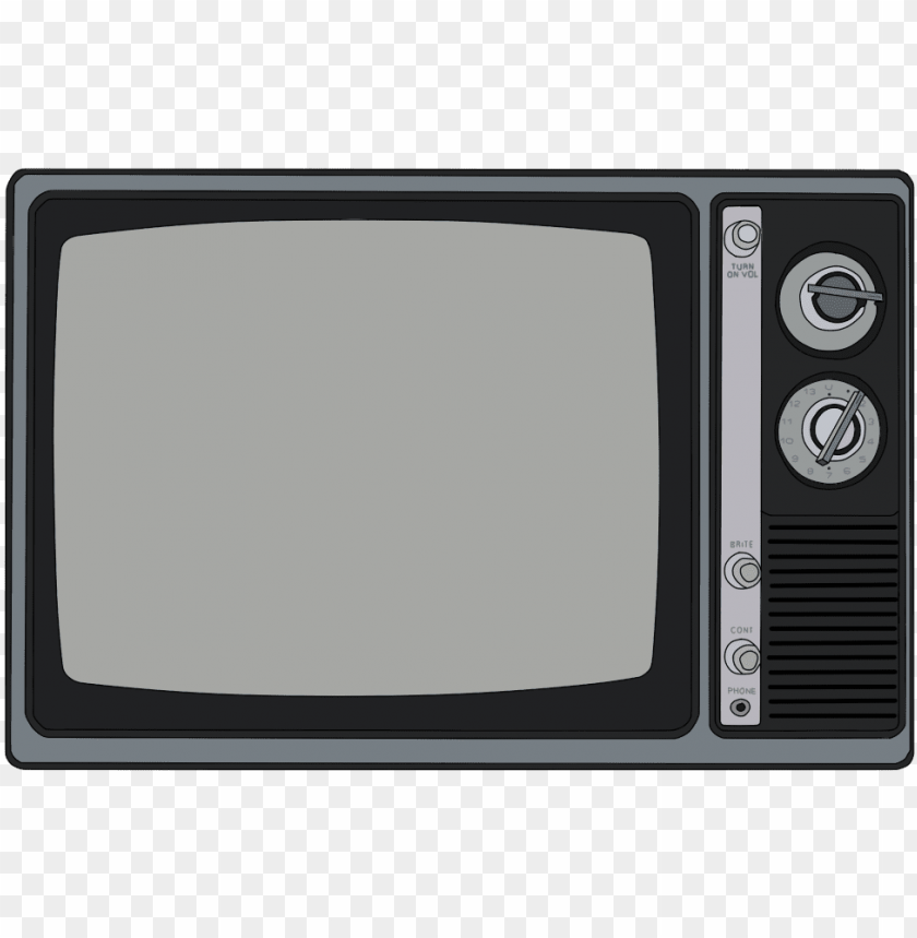 Ood Old Black And White Tv Old Tv Drawi Png Image With Transparent Background Png Free Png Images Old Tv White Tv Black And White