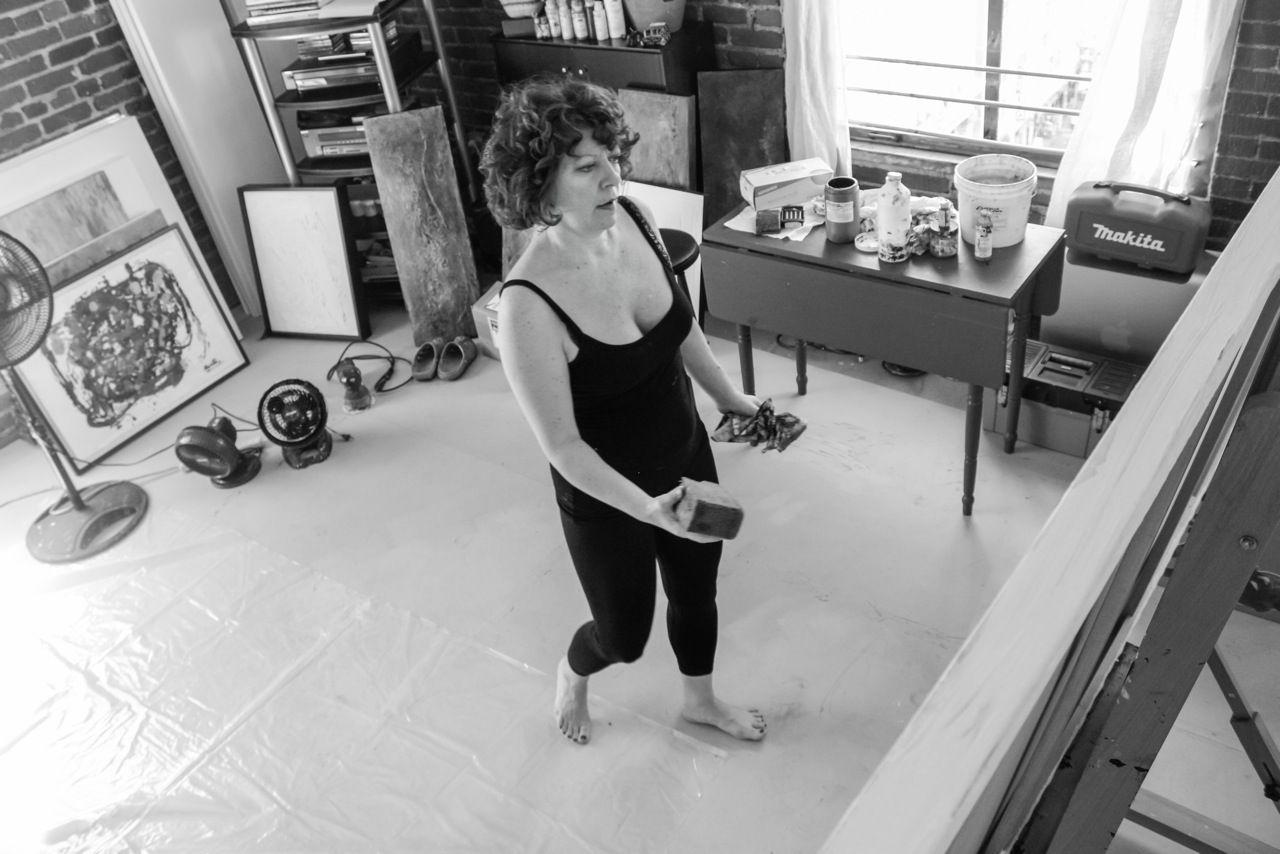Art Class in Los Angeles https://clarabertaart.wordpress.com/2014/12/01/mixed-media-painting-class-with-clara-berta/
