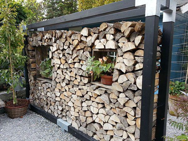 Trennwand im Garten aus Holz – My Blog
