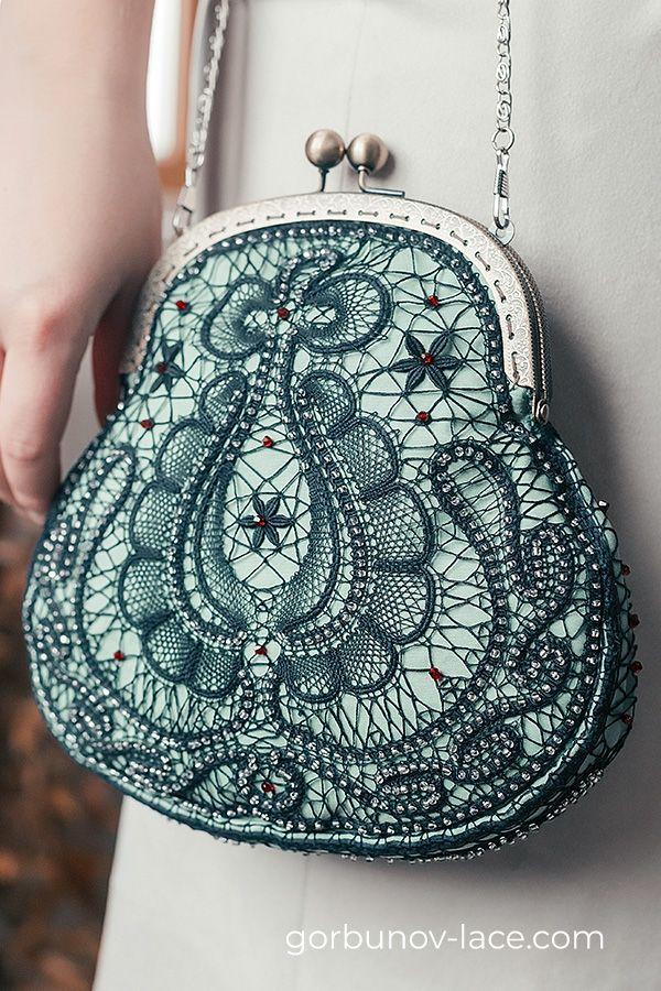 Lace bag «B_1» by Studio Gorbunov