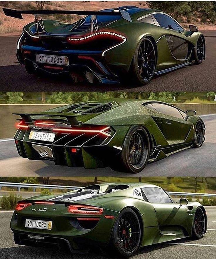 Which would you take? __ #McLaren #P1 #Lamborghini…