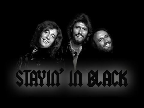 Klart bäst både musikaliskt men också för videon! Stayin' in Black (The Bee Gees + AC/DC Mashup by Wax Audio) - YouTube