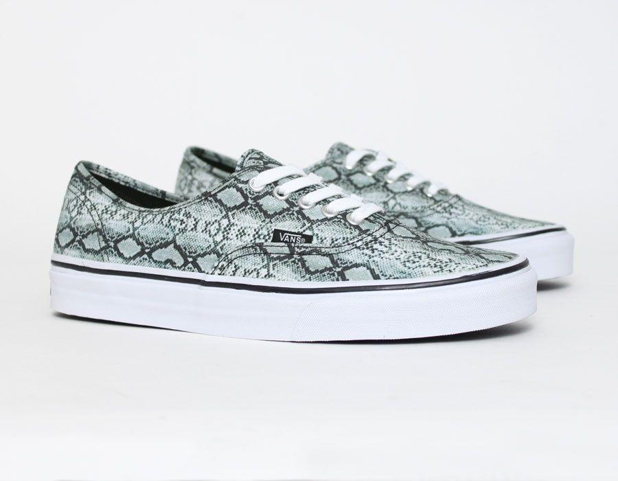 Vans Authentic Snake #print #Sneakers