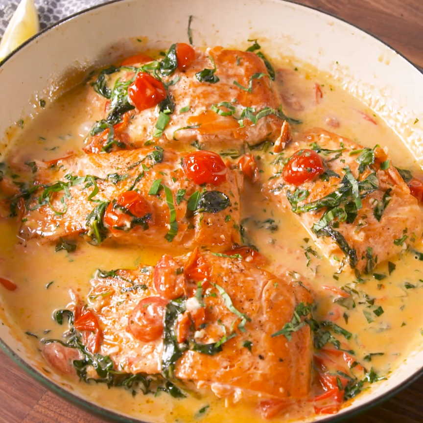 Photo of Tuscan Butter Salmon