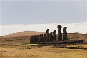 | ? |  Easter Island  | by © Jabbeltubel