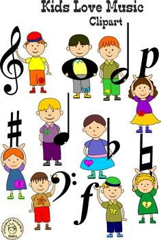 kids love music clip art clip art and music class rh pinterest co uk