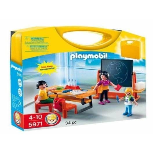 Ni los Playmobils se salvan de la vuelta al cole.