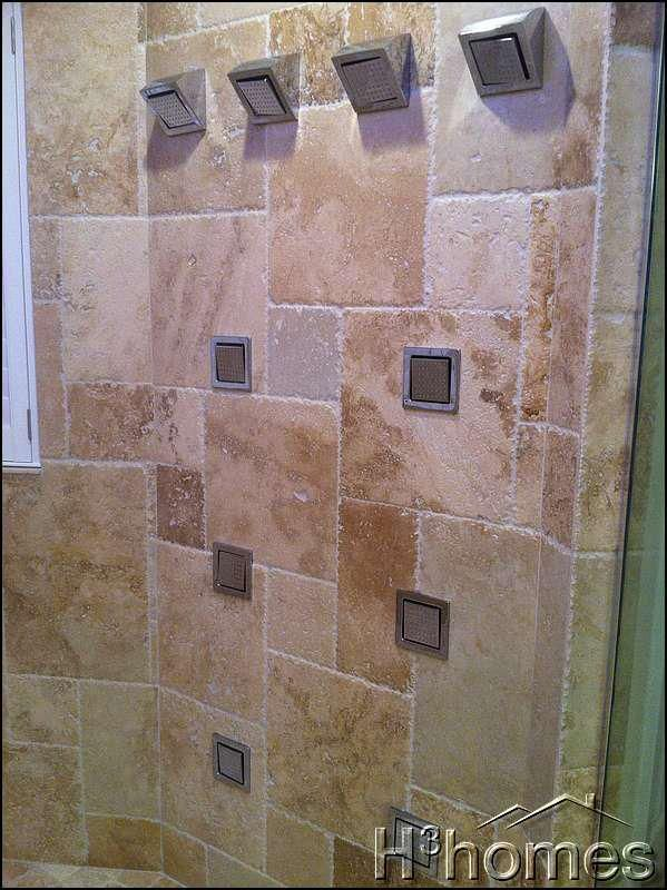 Master Shower With Two Kohler Dtv Systems Complete With 2 Rain