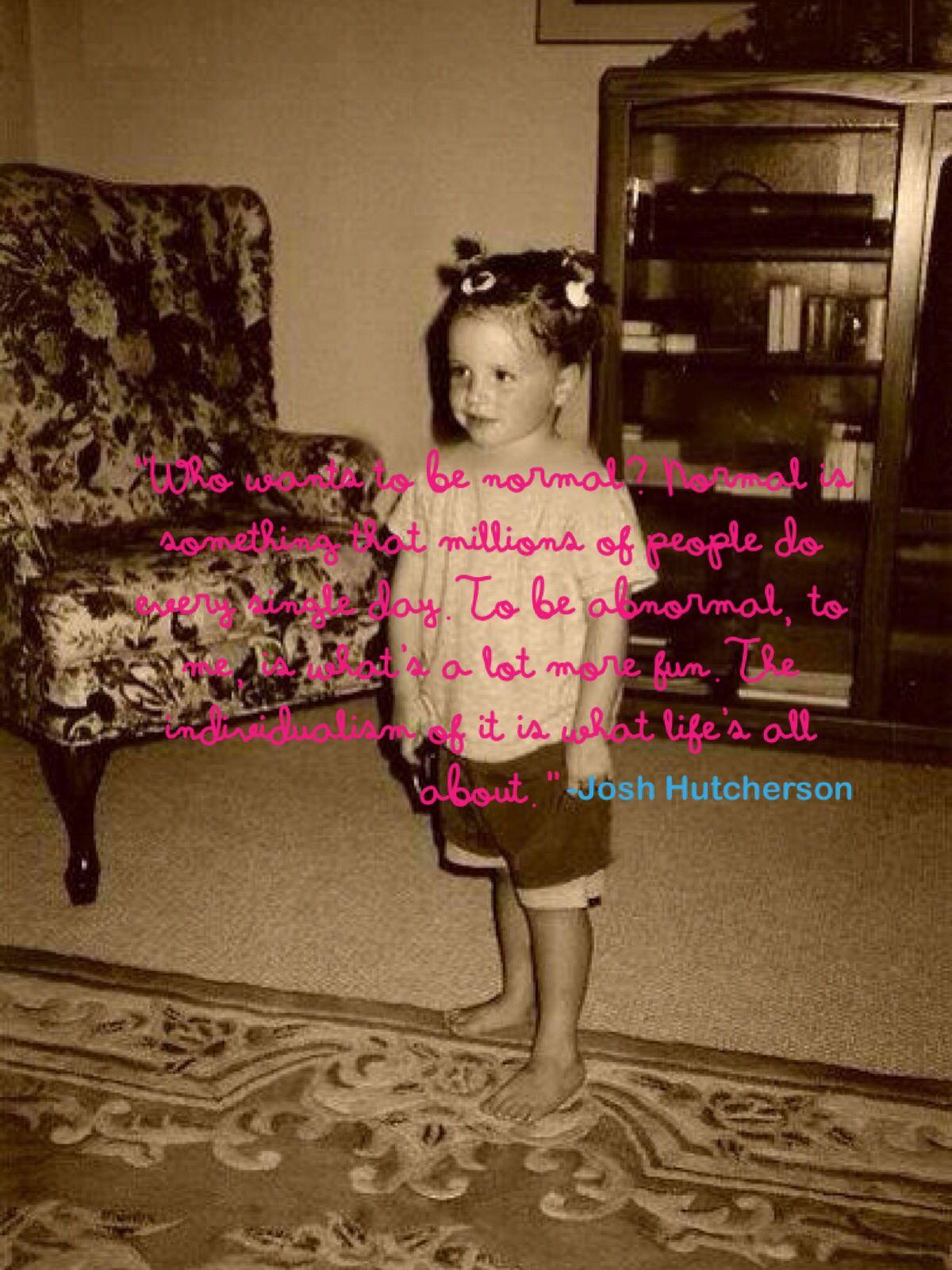 Little josh quote