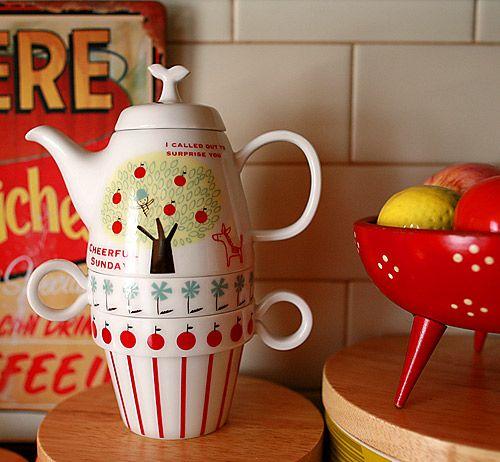 teapot-cup combo♥