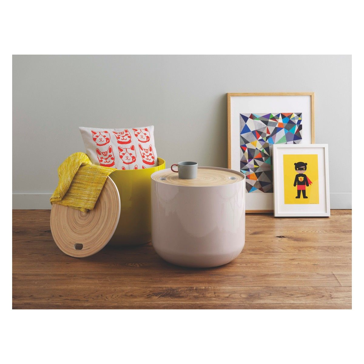 Bert Mushroom Storage Coffee Table: BLYTH Mushroom Storage Side Table In 2019