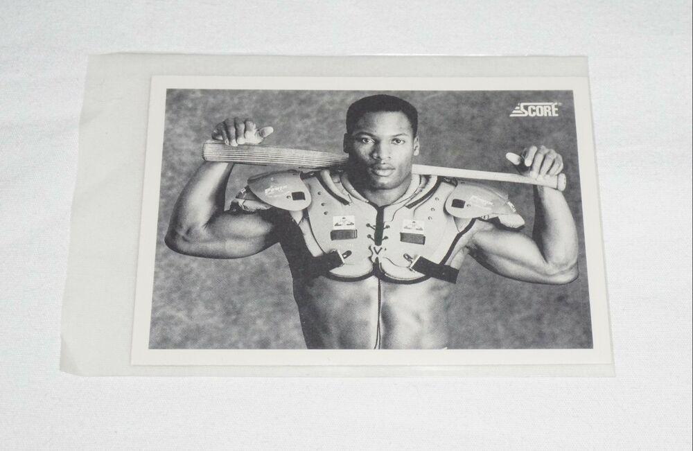 1990 bo jackson 697 baseballfootball collectible