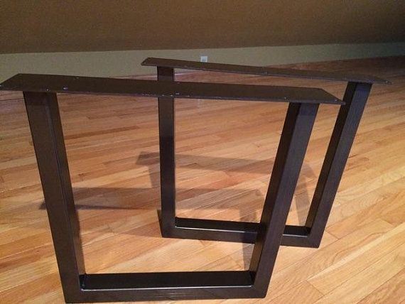 Ordinaire Moosehead Metals Is Proud To Offer These Exceptionally Crafted Steel Tube  Table Legs. IMPORTANT: 2 X 1 Tubing With Heavy Duty Mounting Plate And 10  Holes ...