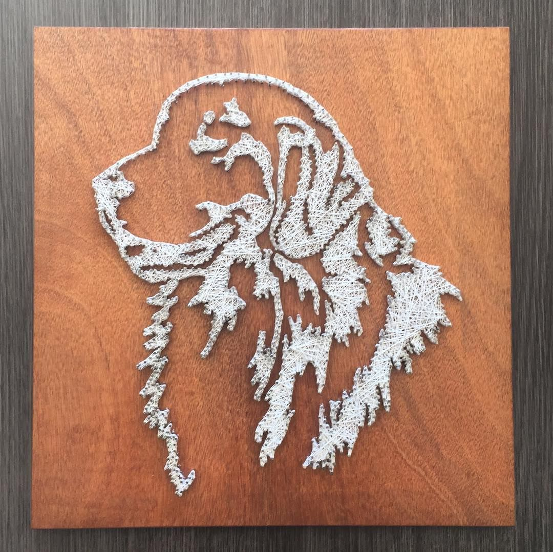Cuadro string art golden retriever hilorama clavos hilos cuadro string art golden retriever hilorama clavos hilos nails prinsesfo Choice Image