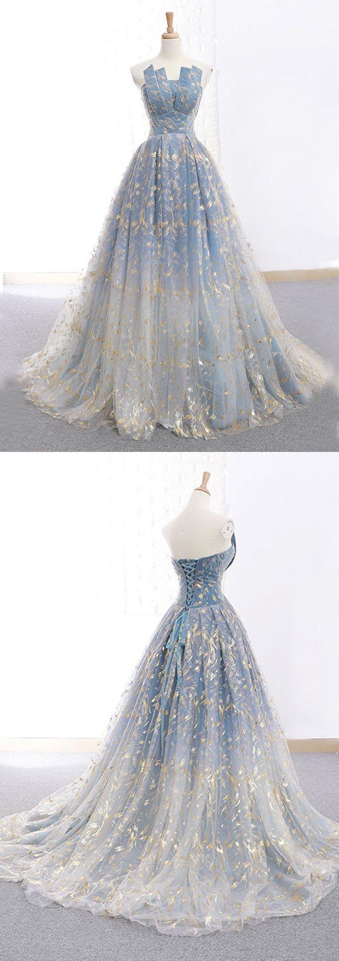 chic aline strapless lace prom dresses unique long prom dress