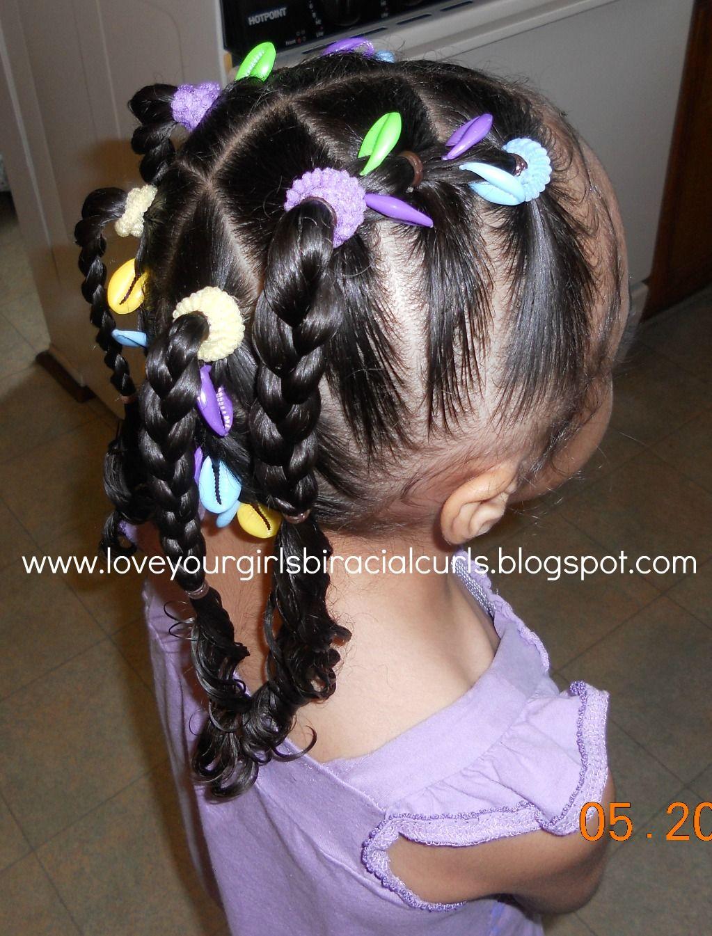 love your girls biracial curls: diva r's little mermaid inspired