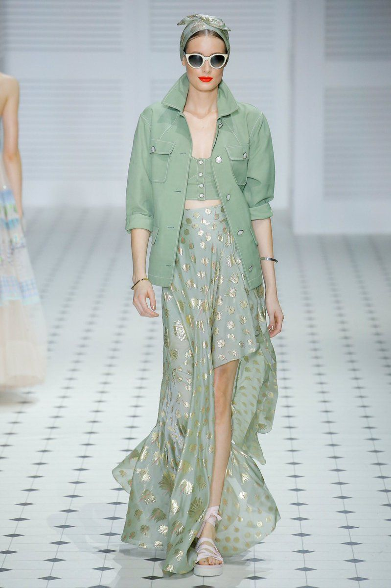 2020 Fashion Trends Summer.Mint The Spring Summer 2020 Colour Trend Fashion London