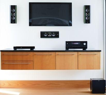 Klipsch on-wall speakers | Modern Living in 2019 | In wall ...