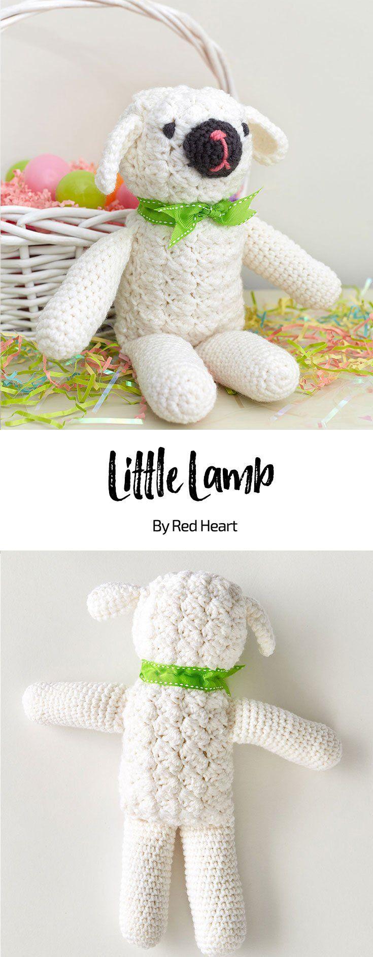 Little Lamb free crochet pattern in With Love yarn. | tiffie-may ...