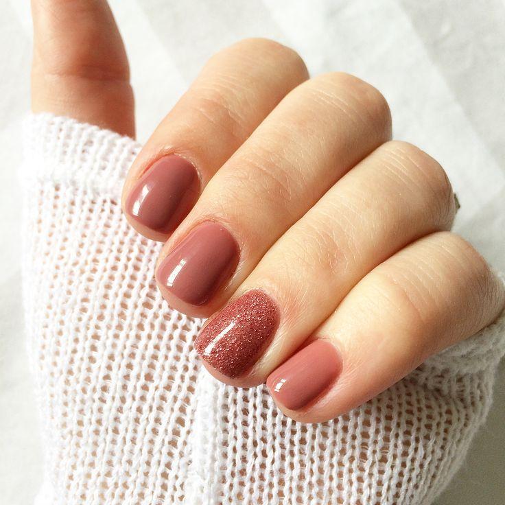 Bonito Oro Uñas Rosa Modelo - Ideas de Diseño de Arte de Uñas ...