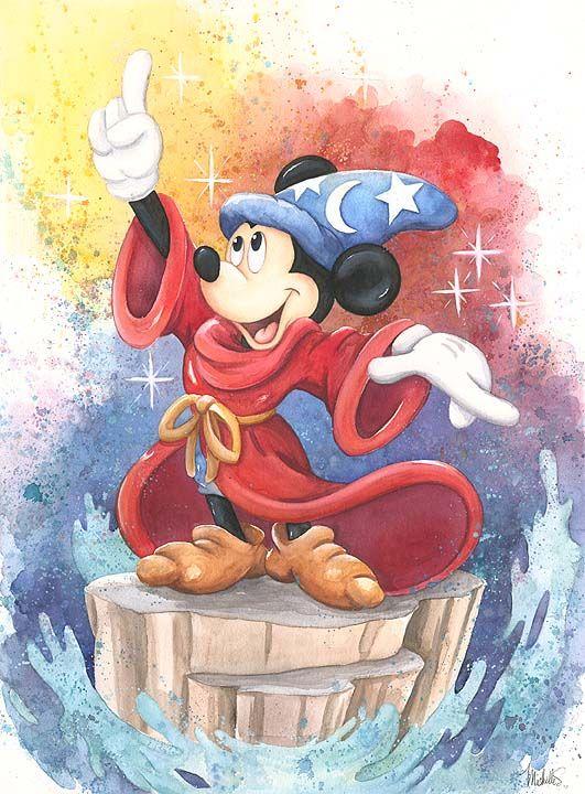 Fantasia Mickey Mouse Myszka Miki