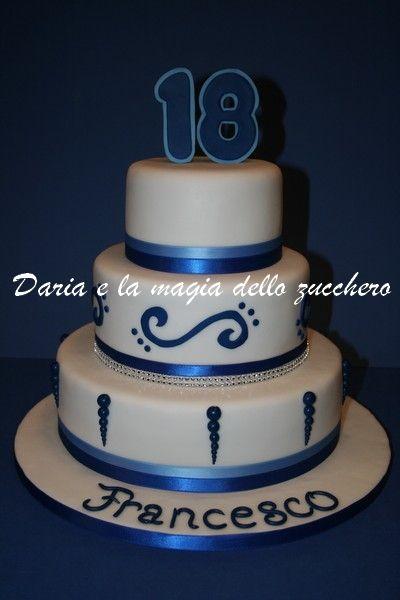 torta 18 anni ragazzo 18th birthday cake boy my cakes