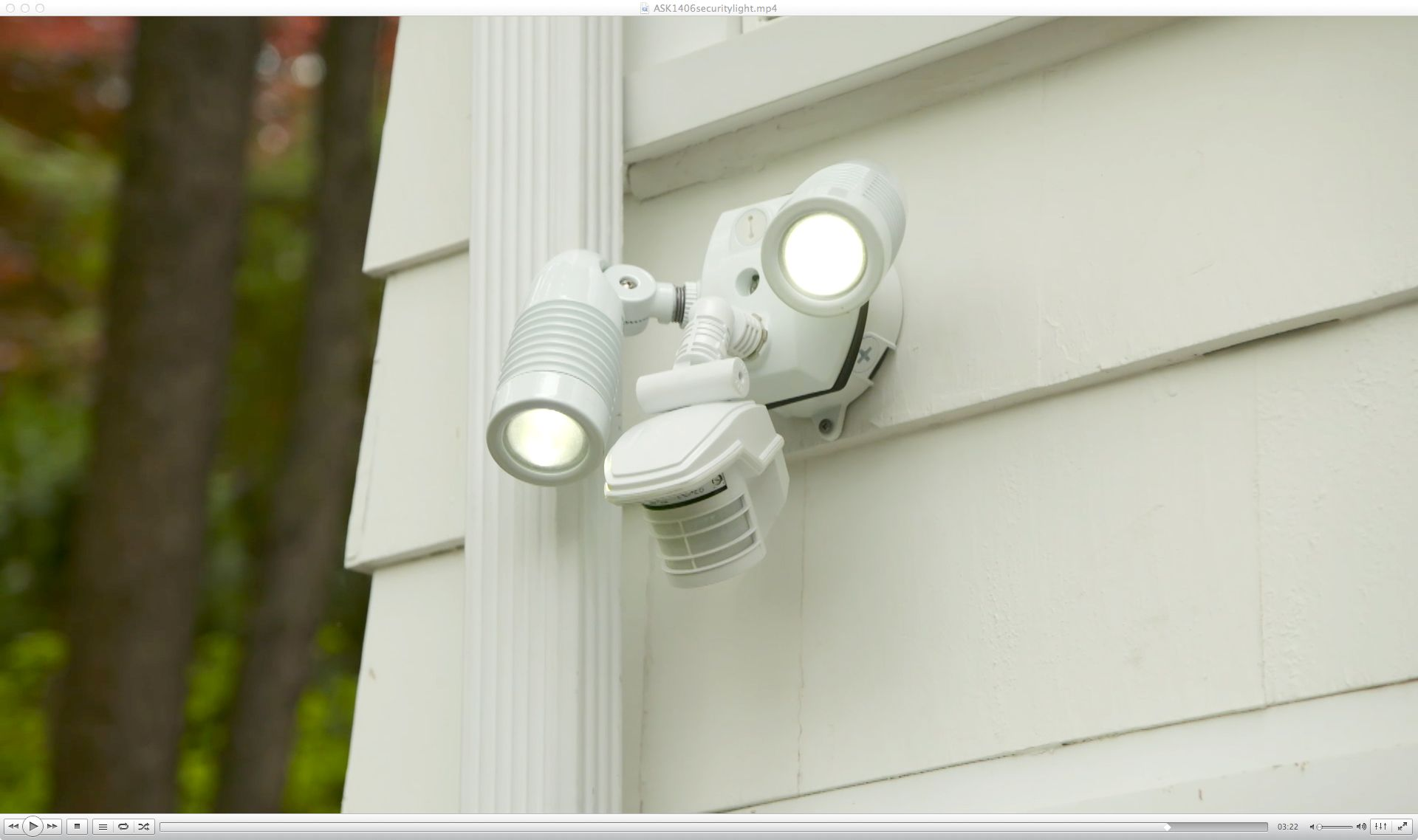 How To Install A Motion Activated Security Light Home Dyi Old House Electrical Wiring Ask This Master Electrician Scott Caron Installs Above Garage Illuminate Dark Driveway