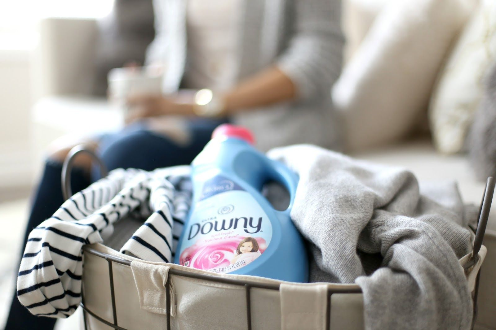 Fabric Conditioning with Downy